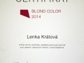 Kadernice Lenka Kralova_2014 blond color